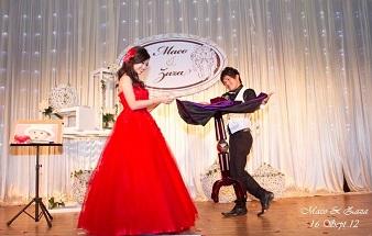 13. Magic Show on Wedding Dinner 338x215