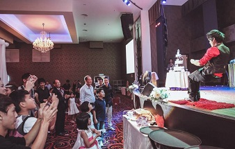 19. Magic Show @ Wedding Dinner 338x215